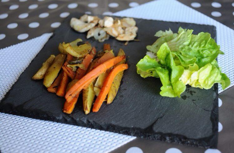 Petite recette de légumes au four
