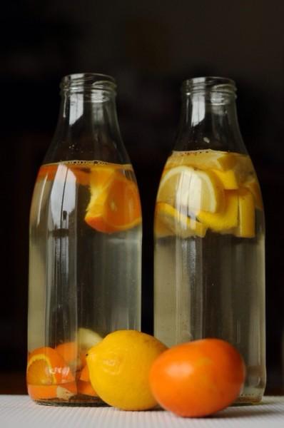 Mes eaux aromatisées citron orange