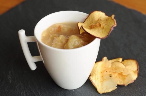 Ma compote de pommes aux cidre