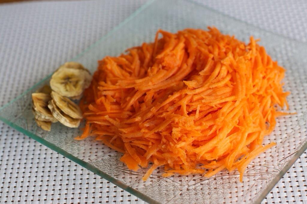 Des carottes râpées