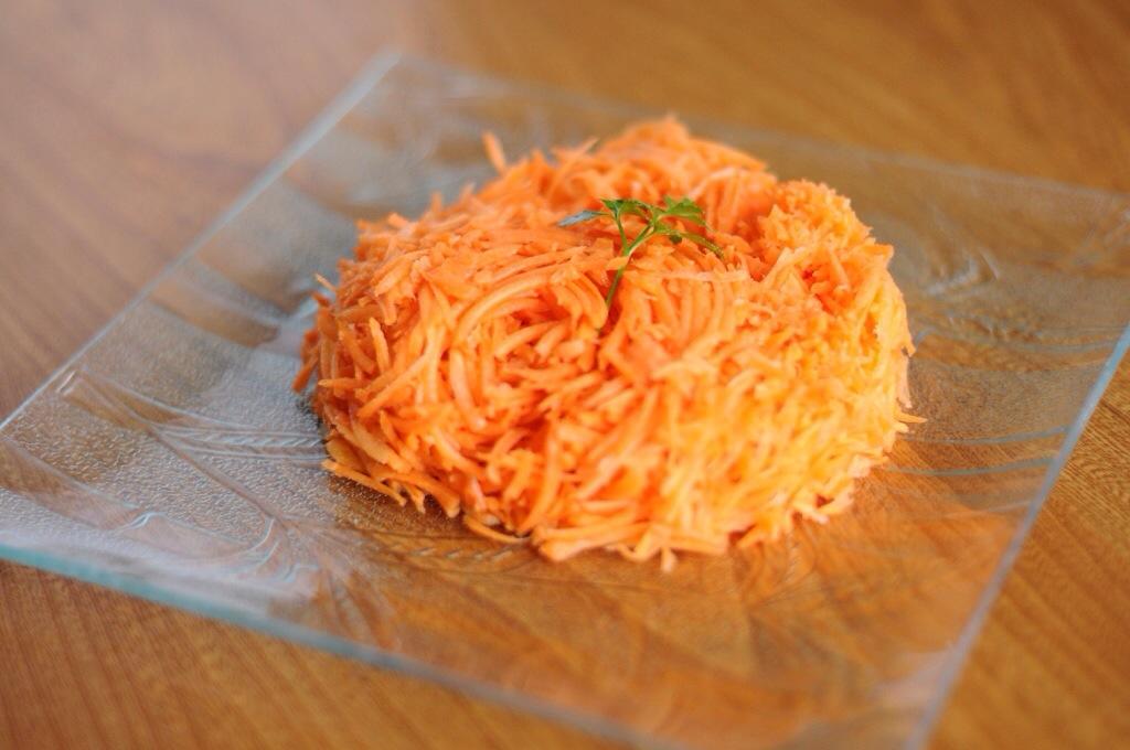 Deux carottes râpées