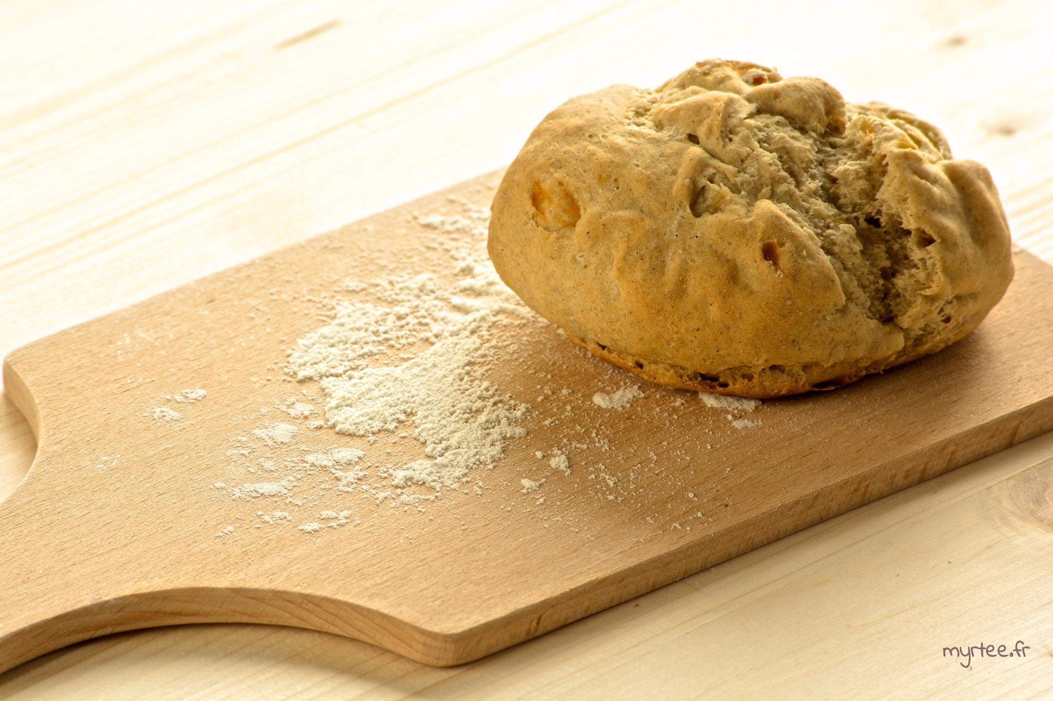 De petits pains sans machines à pain