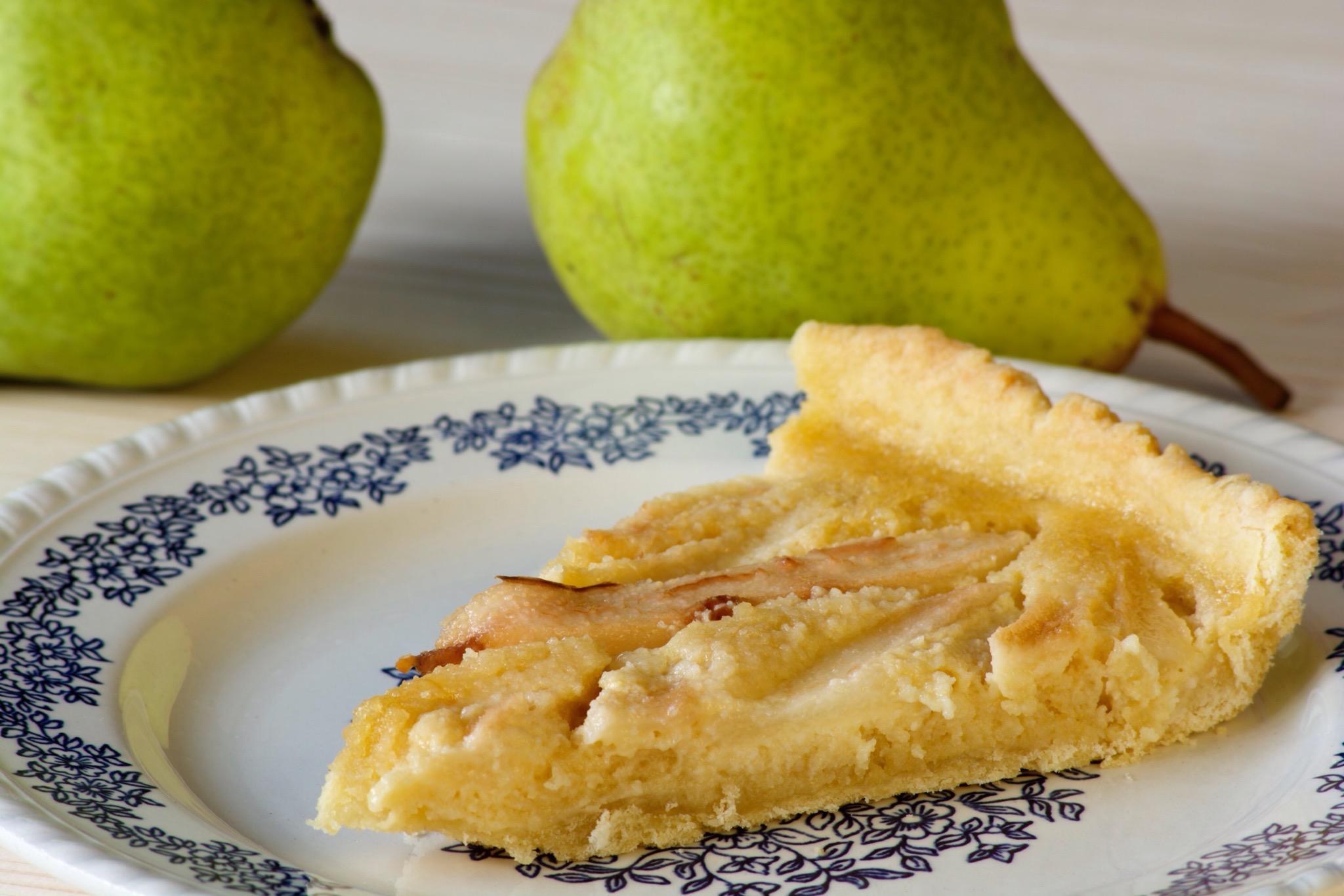 Une tarte aux poires pour l'automne