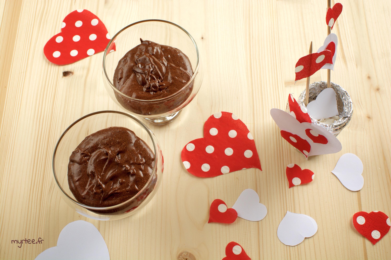 Une mousse au chocolat pour la St Valentin
