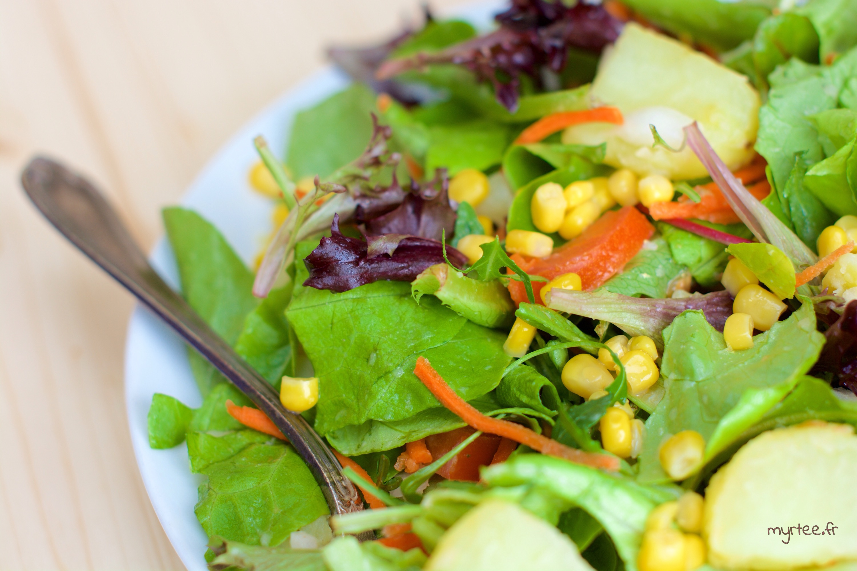 Une salade d'hiver