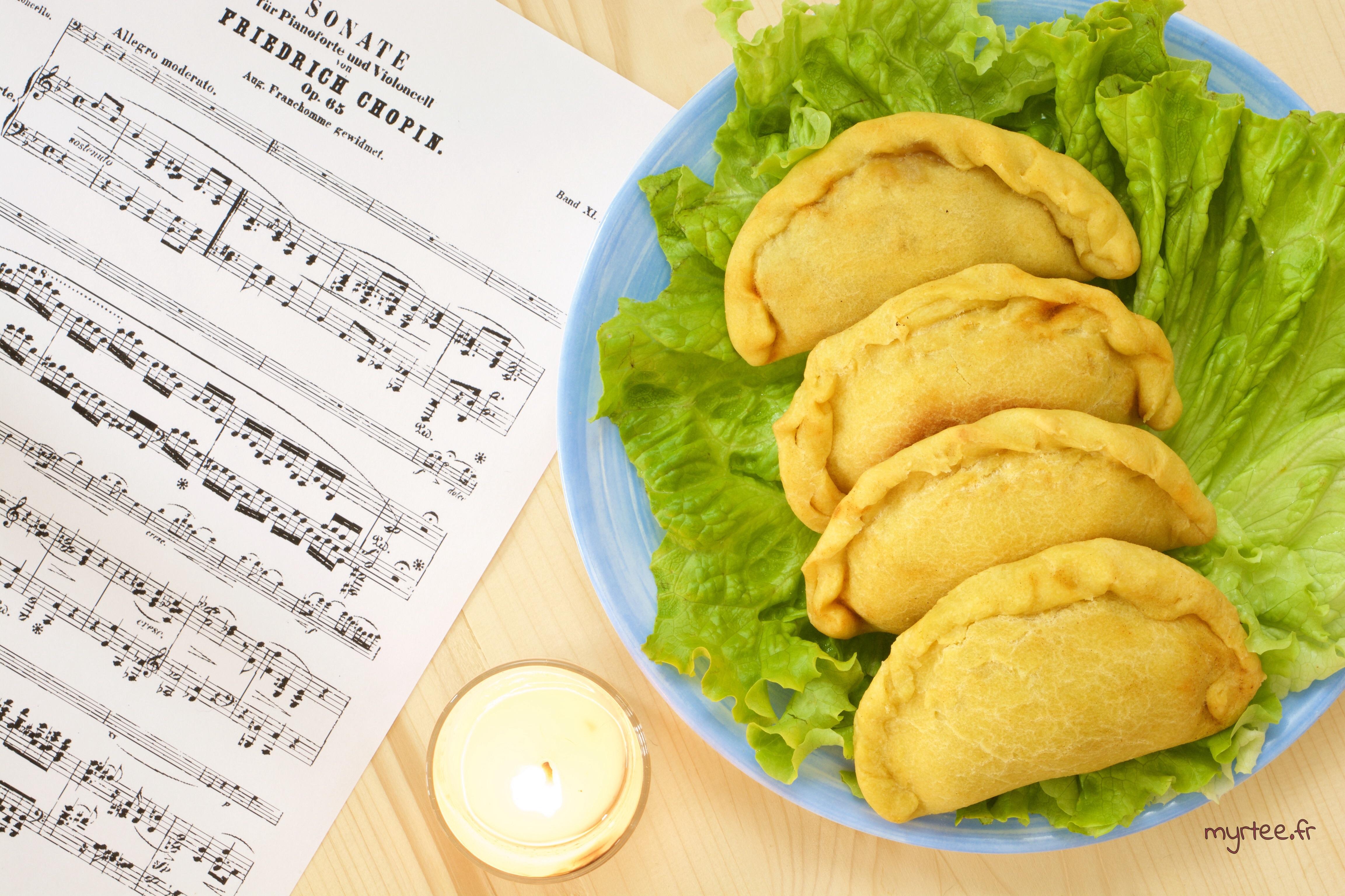 Des empanadas aux champignons (vegan)