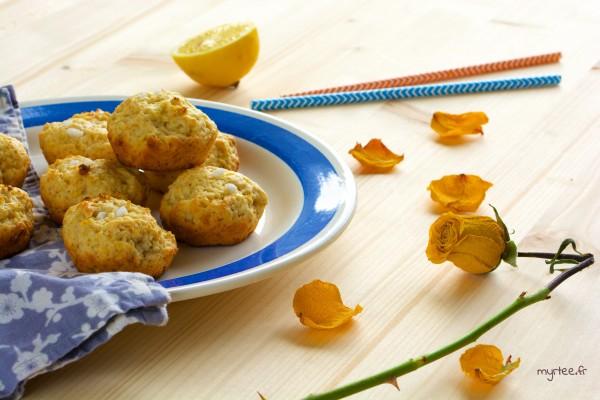 Des biscuits au citron (végétalien)