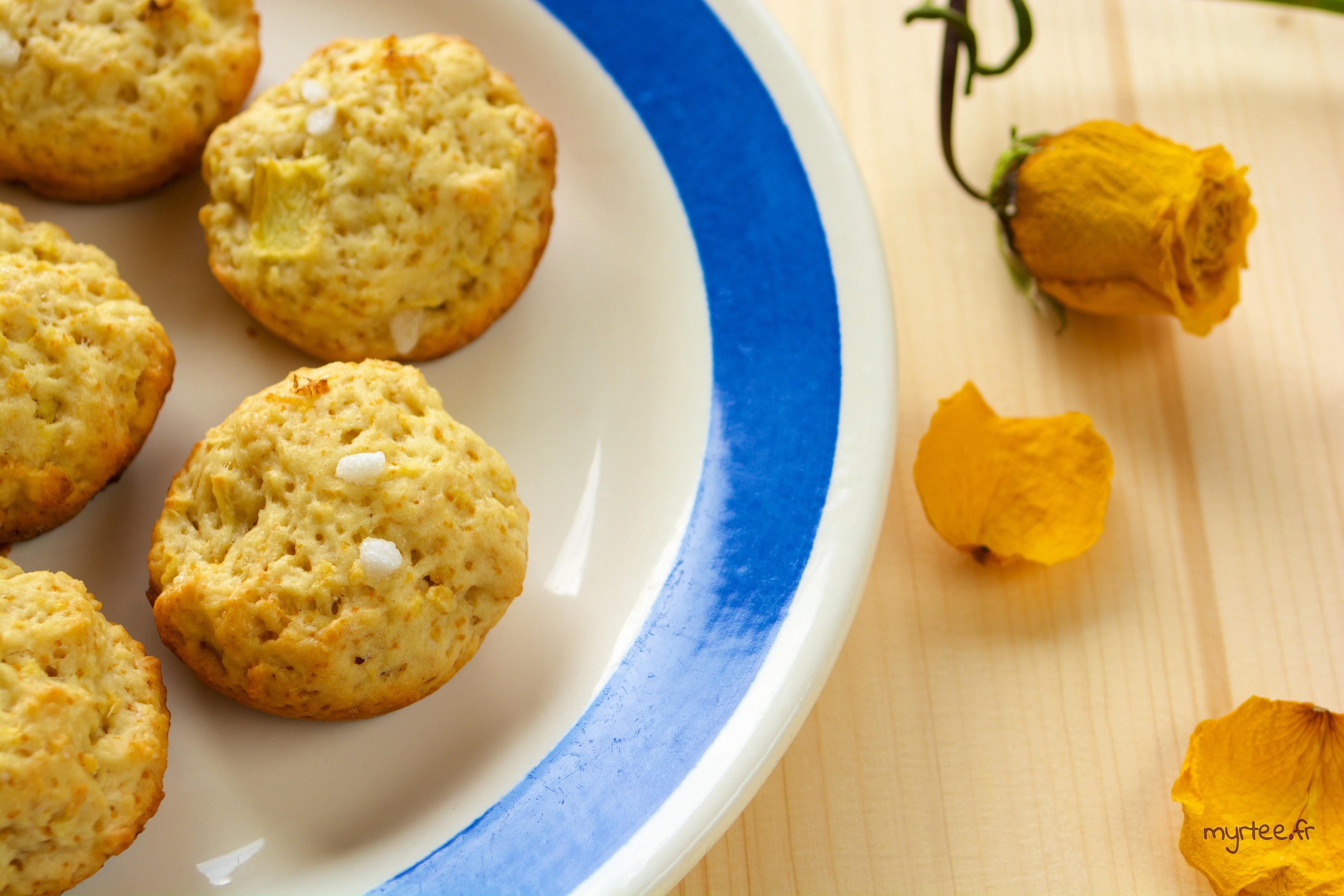 Des biscuits au citron ( végétalien)