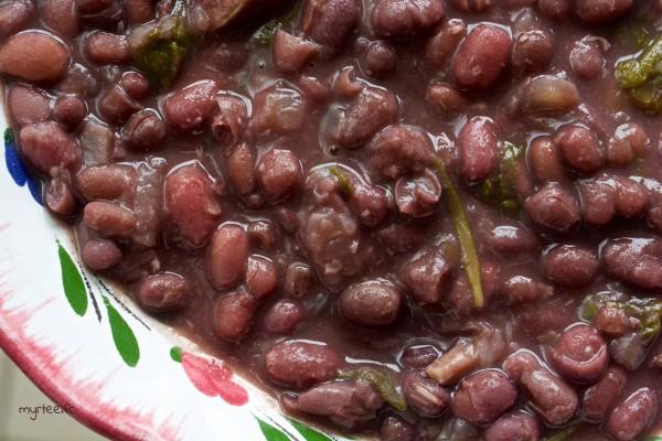 Les haricots azuki aux dattes (vegan)