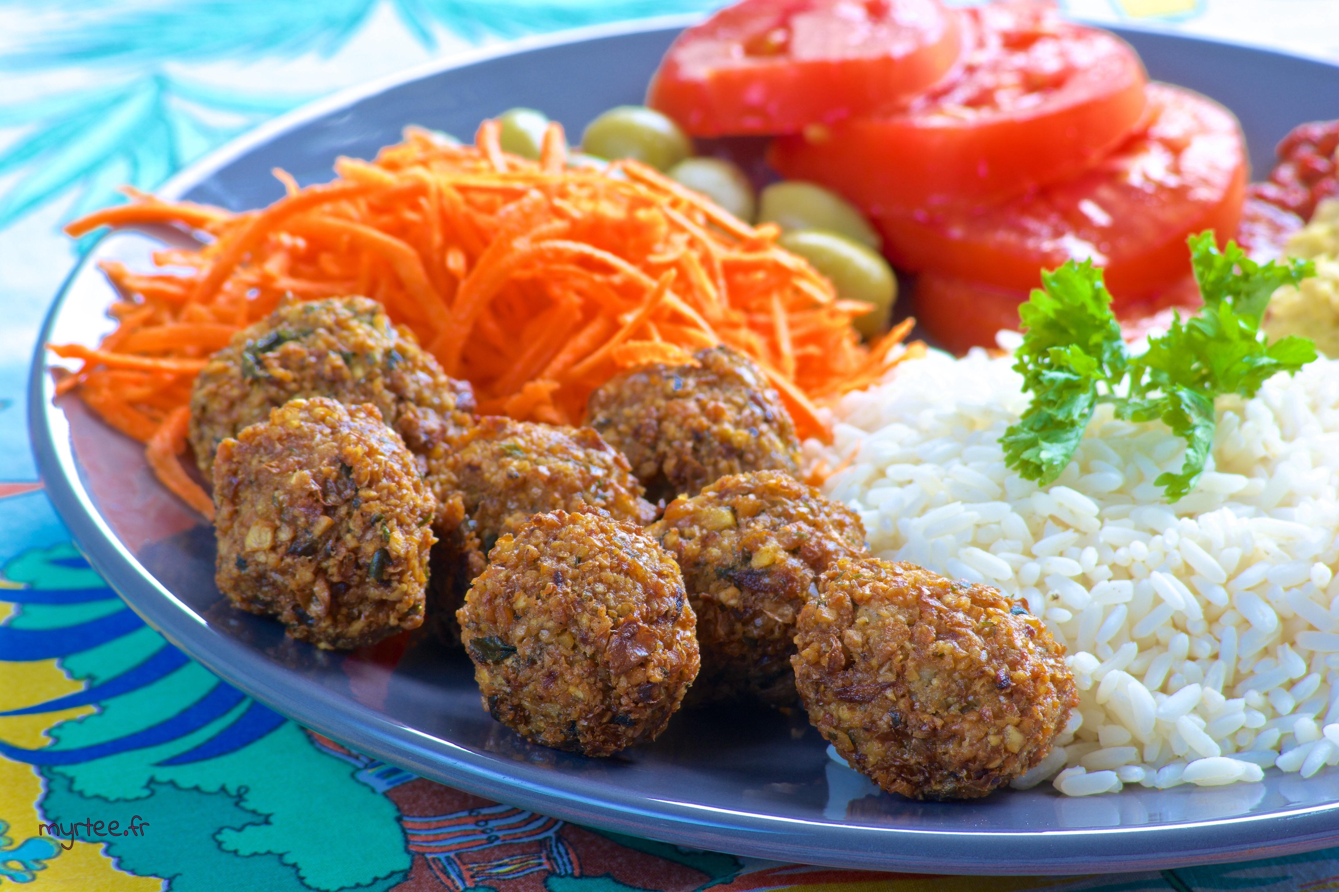 Les falafels (vegan)