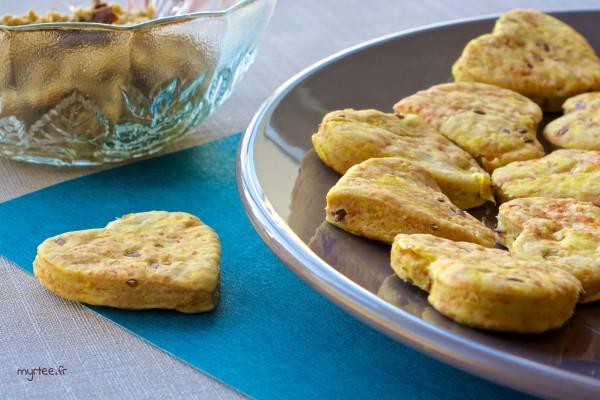 Des biscuits au maïs (vegan)