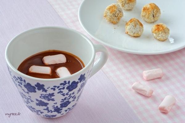 Un chocolat chaud (vegan)