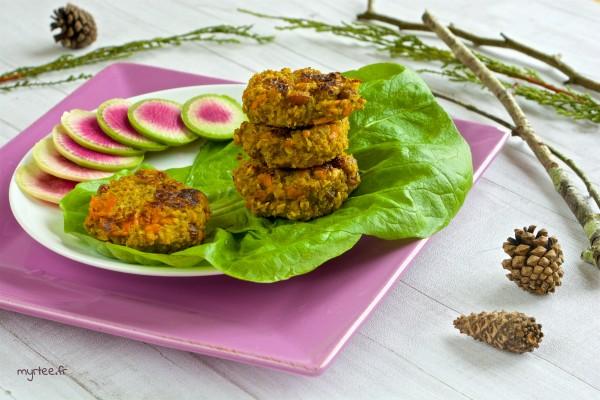 Galettes de quinoa (vegan)