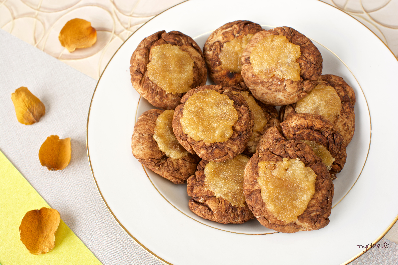 Des biscuits chocolat et citron (vegan)
