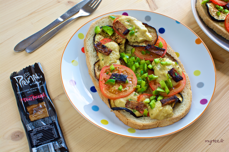 Bruschetta ultra gourmandes (vegan)