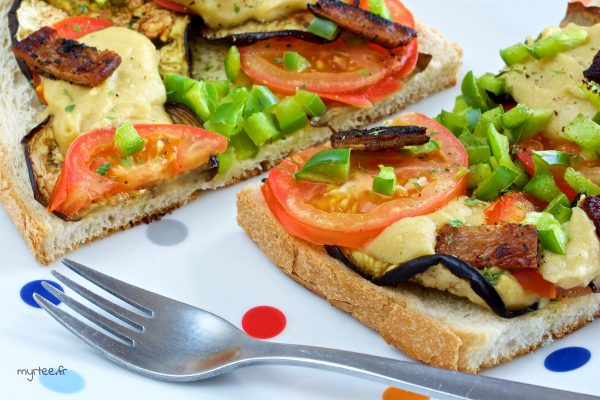 Bruschetta ultra gourmandes (vegan)
