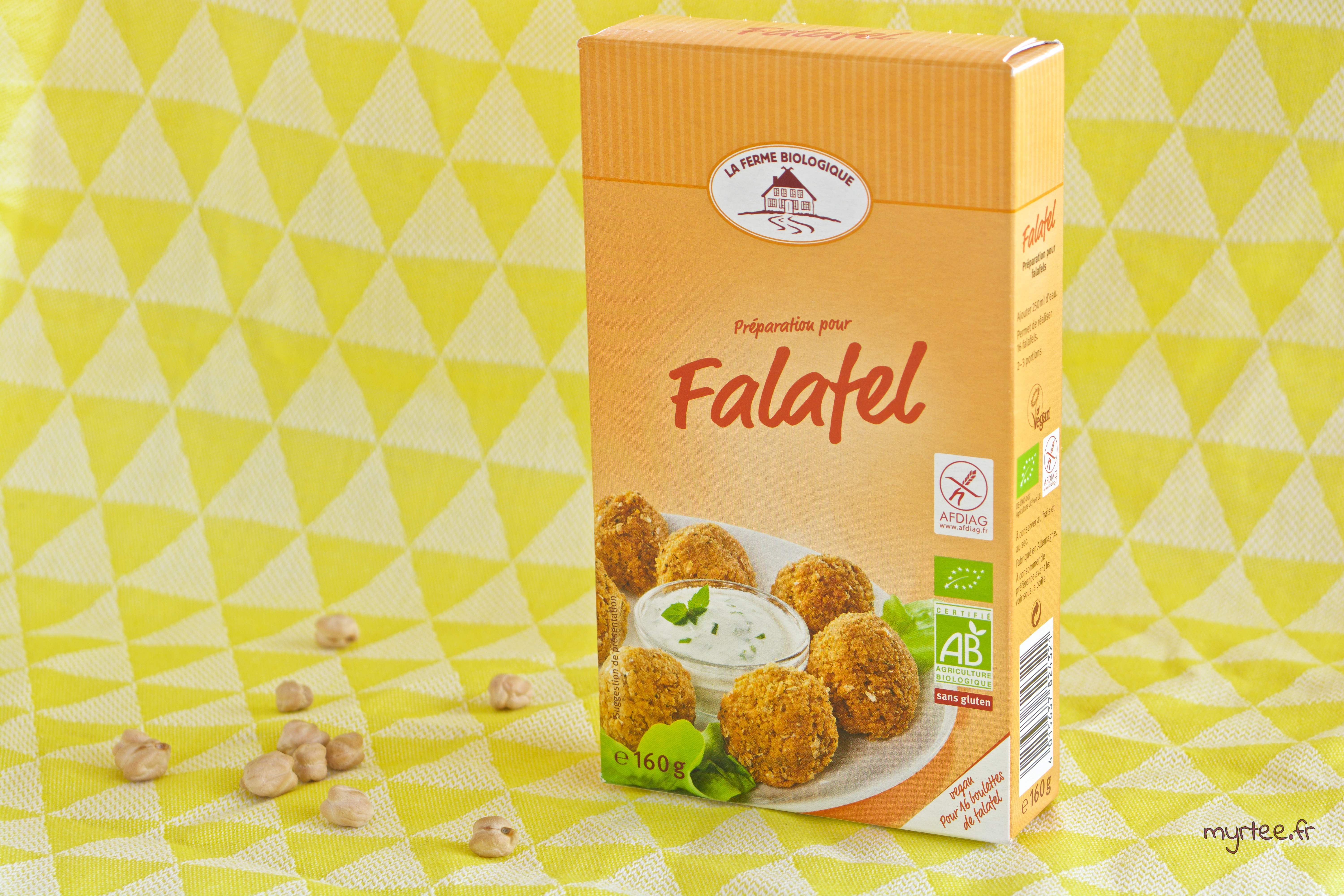 Falafels à la roquette avec the green family (vegan)