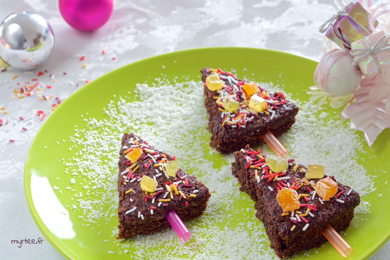 Brownie de noël (vegan)