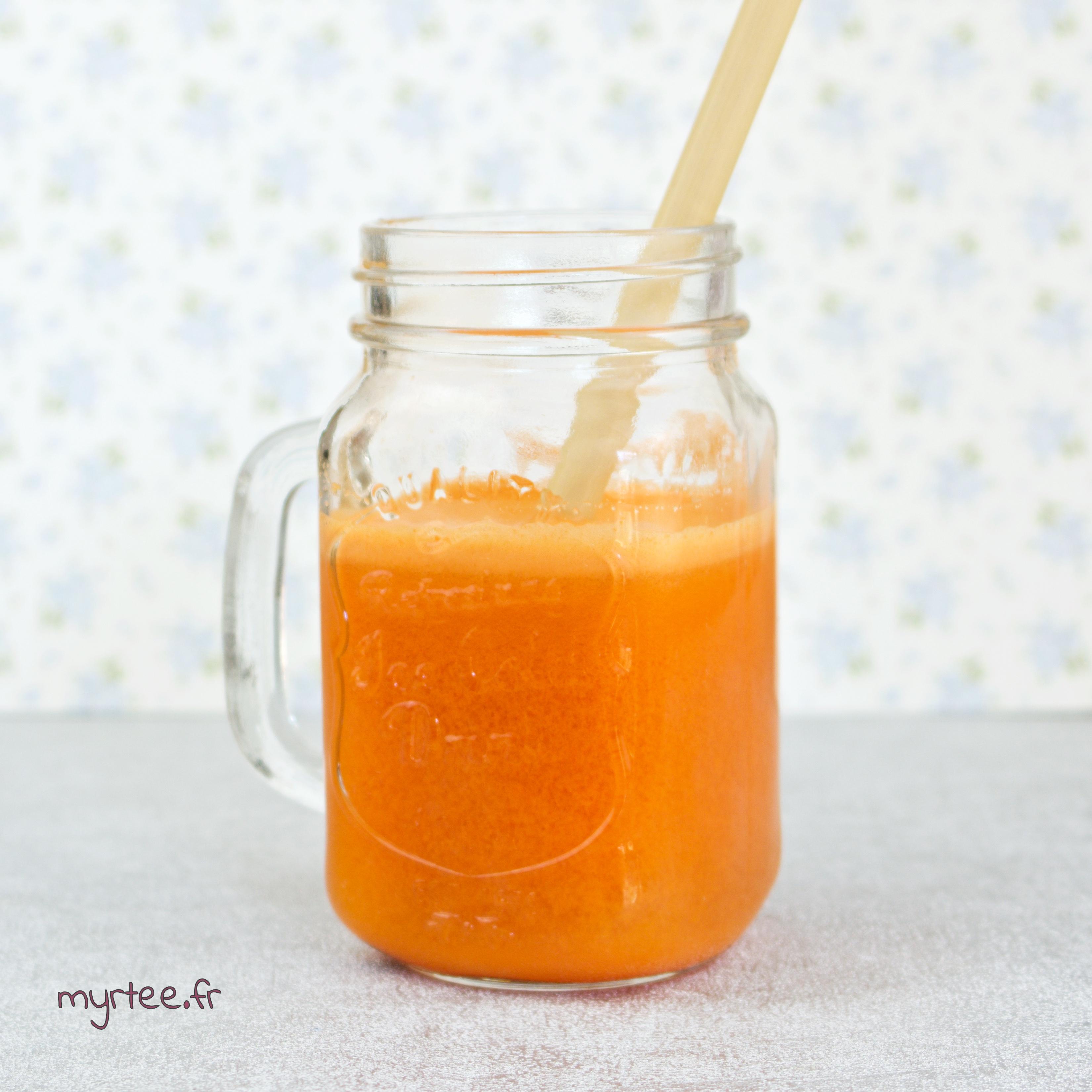 Mon jus préféré à la carotte (vegan)